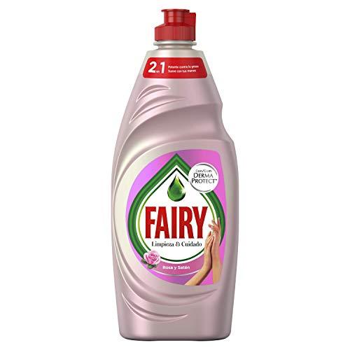 FAIRY Limpieza   Cuidado Rosa y Satén Lavavajillas
