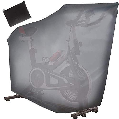 ELR Cubierta para bicicleta estática a prueba de polvo impermeable vertical para interior de bicicleta estática reclinable, cubierta de repuesto para bicicleta Peloton/Spinning/Nordic Track Cycle