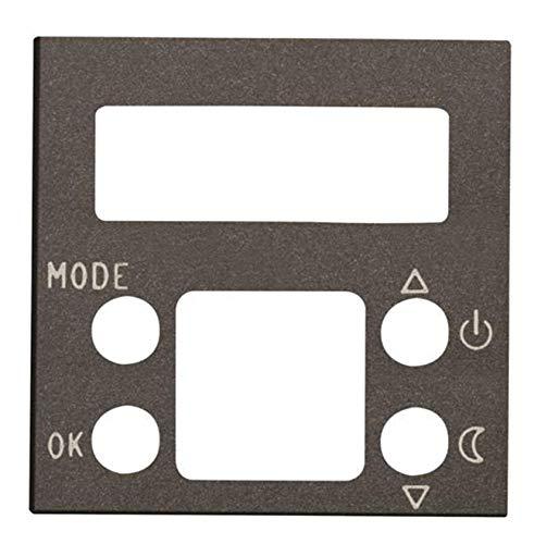 Niessen zenit - Tapa termostato digital zenit antracita