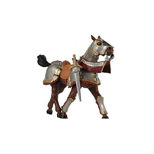 39246 - Caballo con armadura, rojo [importado de Alemania]