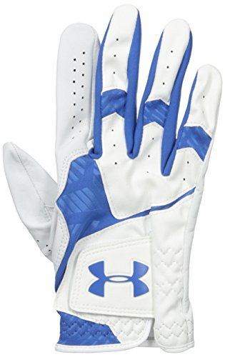 Under Armour Men's CoolSwitch Golf Glove, White/Squadron, Left Small Cadet