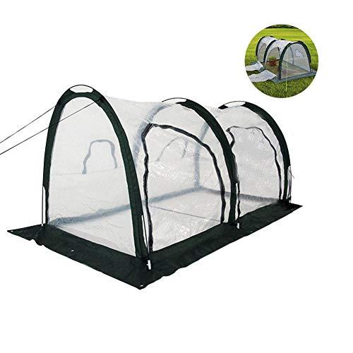 Große transparente Pop-up wachsen Haus Indoor und Outdoor Backyard Protector Cover, Garten Gewächshaus tragbare Gartenpflanze Shelter mit Mehreren Reißverschlusstür