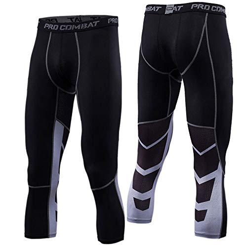 LIAWEI Al aire libre Bodyboulding Ajustado Leggings Fitness Gym Top Transpirable De Secado Rápido Pantalones De La Línea De Músculo Pantalones Cortos