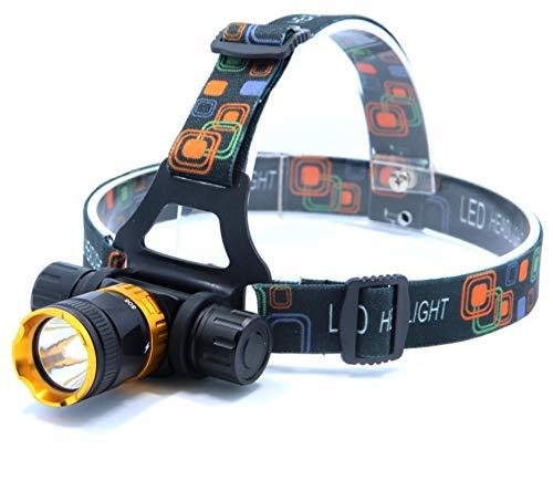 WWWL Linterna Frontal XML-T6 LED 3800 lúmenes 5 Modos Buceo Impermeable Buceo Faro Faro Trabajo Submarino Linterna Linterna lámpara de luz Black