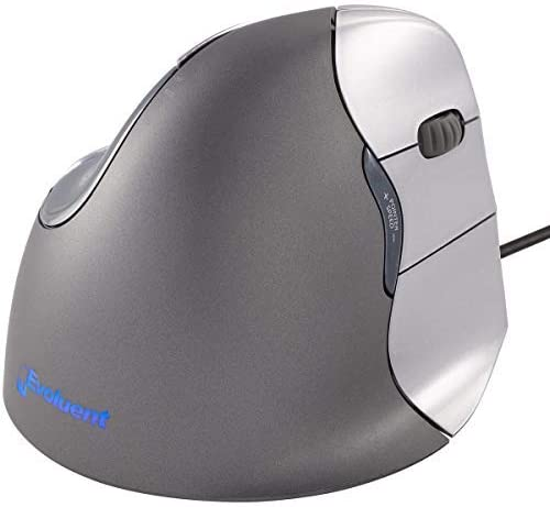 high quality Evoluent sale VM4R VerticalMouse 4 Right Hand wholesale Ergonomic Mouse with Wired USB Connection (Regular Size.) The Original VerticalMouse Brand Since 2002 online