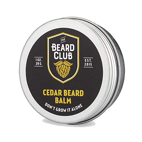 Original Beard Balm | The Beard Club | Reduce Patchiness, Itchiness, and Soften Whiskers | All Natural Ingredients