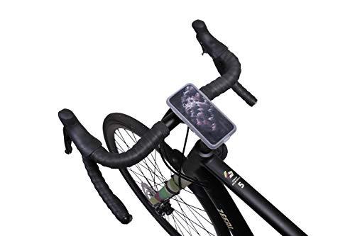 Zéfal Kit Z Console, Impermeabile Cover e Custodia iPhone 11 PRO e Z Bike Mount Smartphone Moto – Supporto Telefono palo/Manubrio Bicicletta Ciclismo, Nero