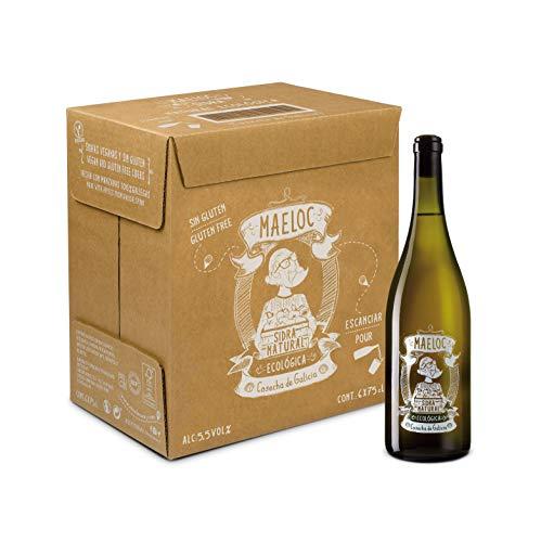 Maeloc Sidra Natural Ecológica - 6 botellas x 750 ml