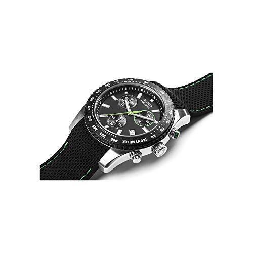 Skoda MVF78-003 Armbanduhr Chronograph Motorsport Edelstahl Uhr