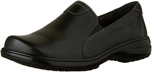 Nurse Mates Women's Meredith Slip On,Black,US 7.5 M