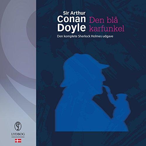 Den blå karfunkel og andre noveller audiobook cover art