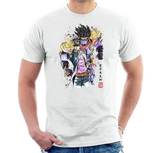 Cloud City 7 Jojos Bizarre Adventure Watercolour Style Men's T-Shirt
