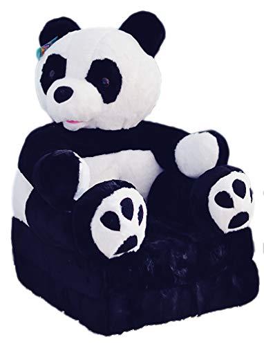 Bambi Poltrona, poltroncina apribile, divanetto per bambini in morbido peluche. Divano e giocattolo Panda.