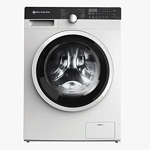 EAS ELECTRIC SMART TECHNOLOGY | EMWY1075V | Lavadora Secadora con capacidad de 7 y 10 kilos | Eficiencia energética B/A | Color Blanco | 1500 RPM | Carga frontal | Pantalla LED | Motor INVERTER