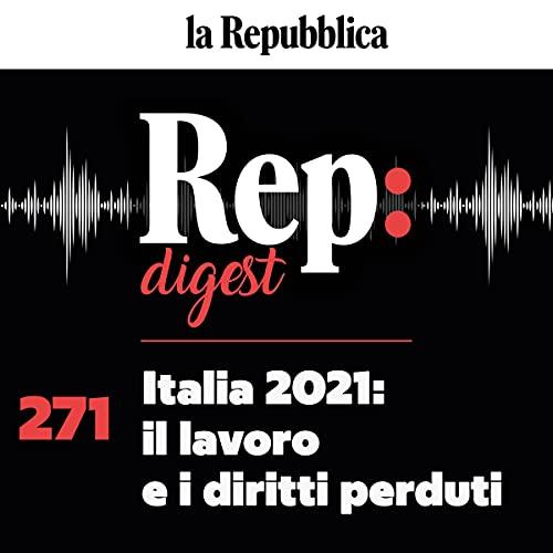 Italia 2021: il lavoro e i diritti perduti copertina