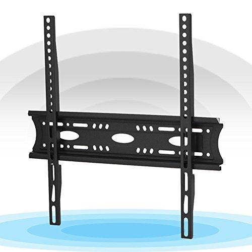 Bediffer Soporte de pared universal para televisores, protección de hasta 50 kg, estable para televisores LCD LED de 30, 32, 42, 55 y 60 pulgadas