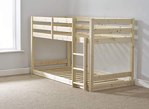 Strictly Beds and Bunks - Low Sleeper Bunk Bed, 3ft Single