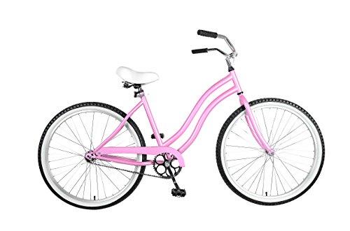 Cycle Force Cruiser Bike, 26 inch Wheels, 18 inch Frame, Women