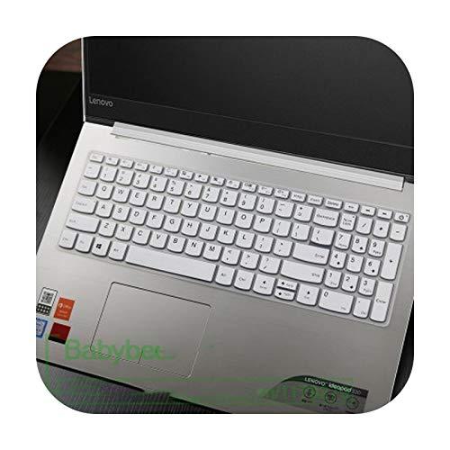 for Lenovo V330 ideapad 320 15.6/17.3,ideapad 330 330s 15.6/17.3,ideapad 520/S340 15.6' L340 laptop Keyboard cover film Skin-white