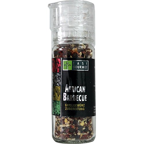 Easy Gourmet African Barbecue Gewürzmühle, 1er Pack (1 x 48 g)
