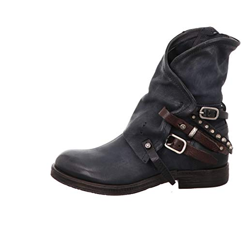A.S.98 Stiefelette in blau as-207235-0101