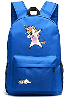 Diligencer Waterproof 3d Cool Galaxy Large Space Dabbing Unicorn Backpack For Kids Girl Boys Adults Travel