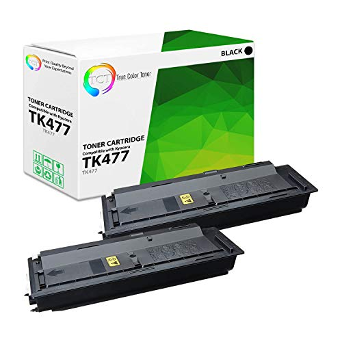 TCT Premium Compatible Kyocera-Mita TK592 TK592K TK592C TK592M TK592Y Toner Cartridge Replacement for Kyocera-Mita FS C2026 2126 2526, 5250DN Printers (Black, Cyan, Magenta, Yellow)- 5 Pack