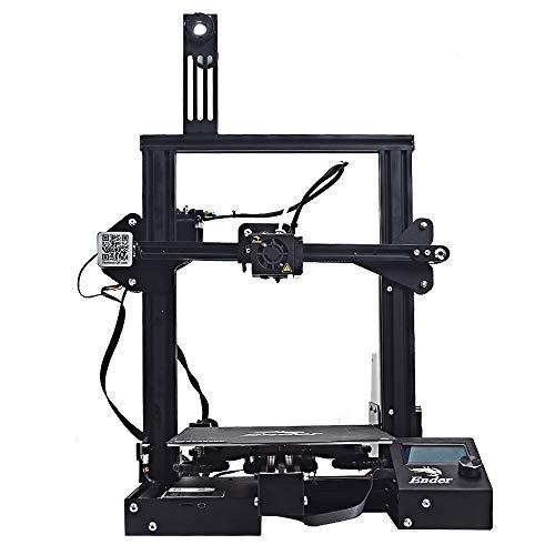 Creality 3Dプリンターキット Ender 3 Proアップグレード ソフトマグネット付き、ブランド mean well 電源