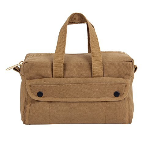 Rothco G.I. Type Mechanics Tool Bag With Brass Zipper, Coyote Size: One Size Color: Coyote Brown, Model: , Tools & Hardware store