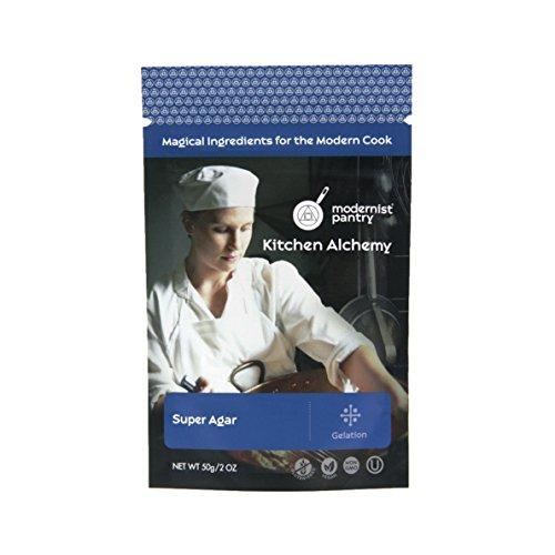 Pure Super Agar Powder - High Gel Strength Gracilaria Algae ⊘ Non-GMO ☮ Vegan ✡ OU Kosher Certified 50g/2oz
