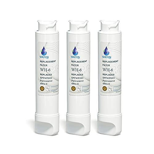 Tetovit EPТWFU01 Water Filter Replacement for Puresource Ultra II-3 Pcs