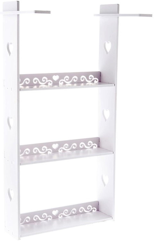 WAN SAN QIAN- Shelf Nordic Style Fridge Side Pylon Kitchen Durable And Beautiful Shelves Wall Hangers Side Hangers Spatula Shelf 363210cm Shelf