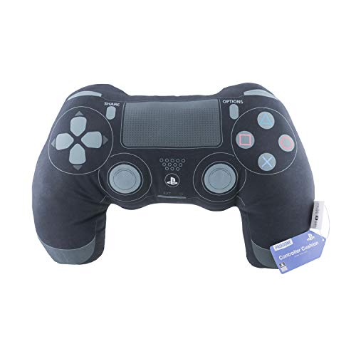 Paladone Playstation Controller Kissen – Gamer Nackenkissen 45 cm x 32 cm, Cushion