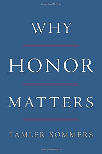 Preisvergleich Produktbild Why Honor Matters