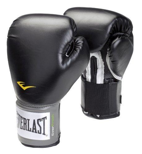 Everlast 2308Y - Guantes de boxeo con velcro, negro, 8 Oz