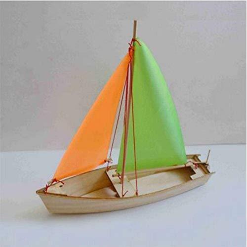 RUXMY Decoración Modelo de velero DIY Modelo de velero Juguetes Material de Madera Proceso de Grabado láser Juguetes creativos Hechos a Mano Modelo Barco Juguete Educativo