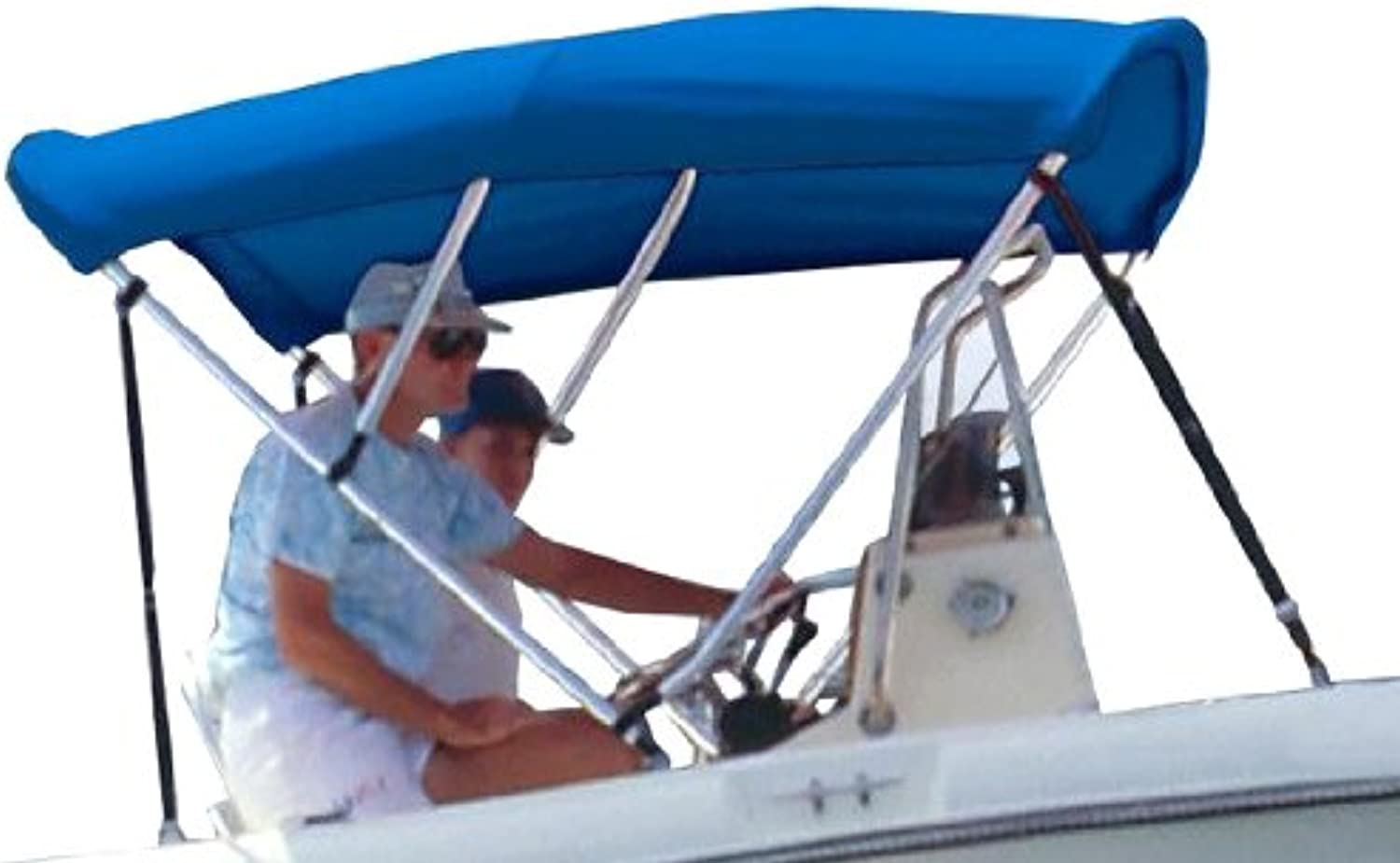 Survivor Marine Products Bimini Top (Fabric Only), bluee, 6Feet Length x 54Inch Height x 6066Inch Width