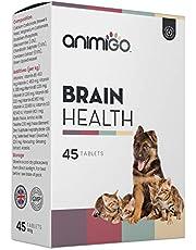 Animigo Salud Mental para Perros y Gatos   Suplemento para Salud Cognitiva con Glucosamina, Vitaminas y Minerales