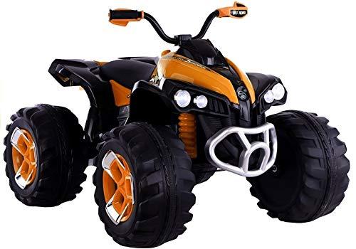 Kindervoertuig, elektrische quad FB-6677 oranje