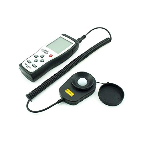 GJJSZ Messgerät Digitales Luxmeter Photometer Illuminometer Spektrometer Spektralphotometer Hochpräzises Lichtmessgerät 200.000lux AS823