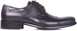 Erkan Kaban 754 019 Erkek Siyah Deri Klasik Ayakkabı 48