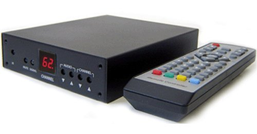 professional Analog CATV tuner with cinch audio / video output for satellite cable TV receivers