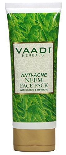Vaadi Herbals Ant-acné Neem Face Pack Avec clou de girofle et le curcuma (1 X 120g)