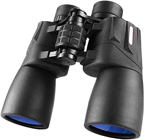 Telescopio Adulto, prismáticos 10x42 para Adultos Niños, Vida Prismáticos Impermeables Compactos con Noche en Condiciones de Poca luz Prisma BAK42 Prismáticos ópticos FMC Telescopio para observación
