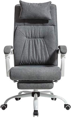 HHJJ Silla de videojuegos, silla de ordenador, muebles de oficina, de algodón, silla de oficina, silla de oficina, esports juego, silla giratoria cómoda silla de escritorio, respaldo doble -53909G3F6R