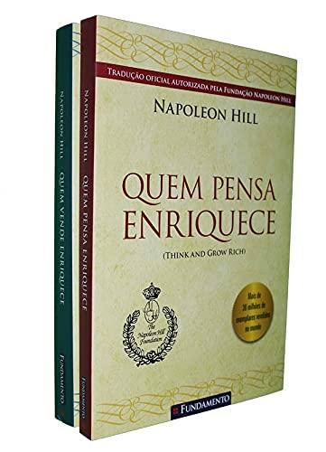 Napoleon Hill - Kit (Quem pensa enriquece, Quem vende enriquece)