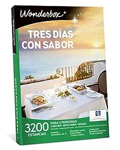 WONDERBOX Caja Regalo -Tres DÍAS con Sabor- 3.200 estancias para Dos Personas