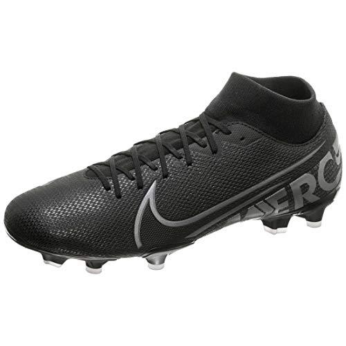 Nike Superfly 7 Academy Fg/MG, Scarpe da Calcio Unisex-Adulto, Multicolore (Black/Mtlc Cool Grey/Cool Grey 001), 40 EU