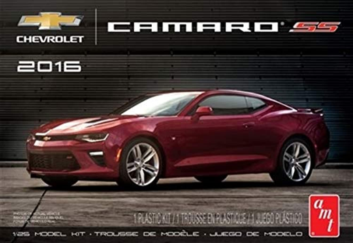 AMT AMT978 1 25 Scale 2016 Chevy Camaro SS Model Kit