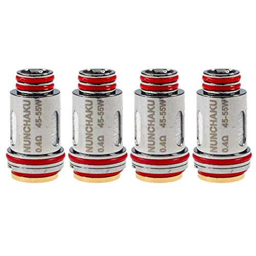 Uwell Nunchaku Coils (0,4 Ohm), Kanthal A1, Riccardo Verdampferköpfe für e-Zigarette, 4...